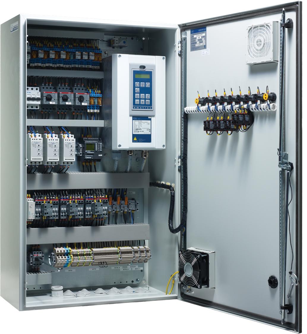 Шафи управління з частотними пертворювачами