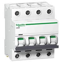 Автоматичний вимикач SE Acti 9, 4р, 6А, C