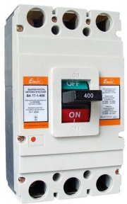 Авт. вим. ВА77-1-1600  3 полюси  1600А  65кА  з приводом +доп.контакт