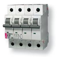 Автоматичний вимикач ETI Etimat 6, 4р, 2А, C
