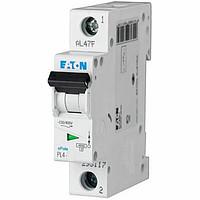 Автоматичний вимикач EATON PL4-C6, 1р, 6А, C