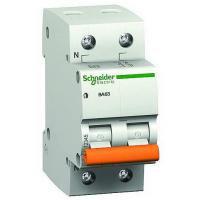 Автоматичний вимикач SE Acti 9, 2р, 2А, C