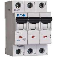 Автоматичний вимикач EATON PL4-C16/3, 3р, 16А, C