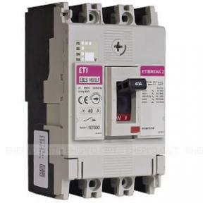 Автоматичний вимикач ETI EB2 125/3S 100А
