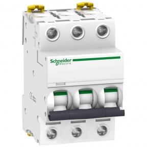 Автоматичний вимикач SE Acti 9, 3р, 6А, C