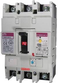 Автоматичний вимикач ETI EB2S250/3L 200A