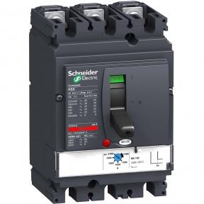 Автоматичний вимикач NSX160F 3P3D TM-D 160A 36kA