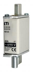 Запобіжник з індикатором NH-00/K C gG KOMBI 40A 690V, ETI