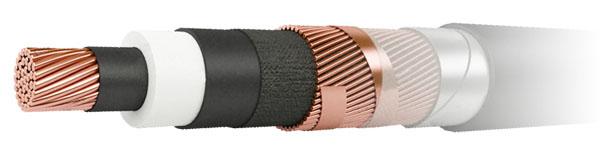 Силові кабелі з зшитого поліетилену